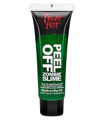 Paintglow Fright Fest Peel Off Zombie Slime (12ml)