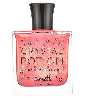 Barry M Crystal Potion Body Oil (Pink)