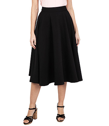Voodoo Vixen Sandy Skirt (Black)