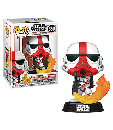 Funko Pop! Star Wars The Mandalorian Incinerator Stormtrooper Vinyl Figure