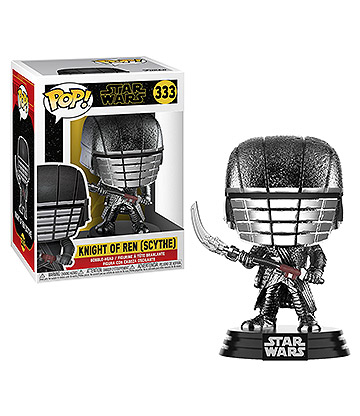 Funko Pop! Star Wars Knight Of Ren With Scythe Vinyl Figure