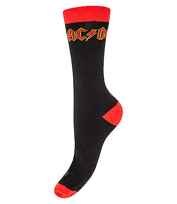 Official AC/DC Socks (Black/Red)