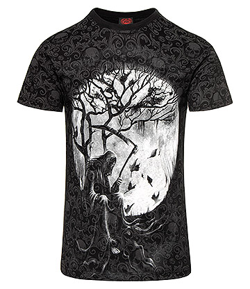 Spiral Direct Killing Moon T Shirt (Black)