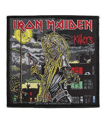 Official Iron Maiden Killers Patch (Black)