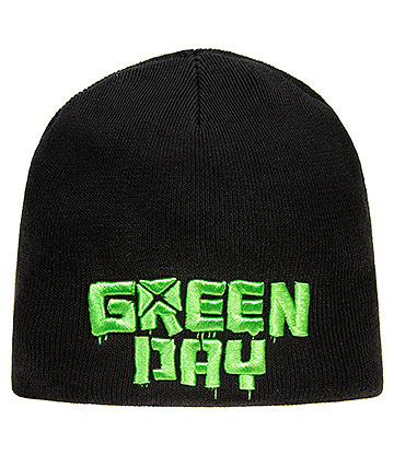 Official Green Day Logo Beanie (Black)