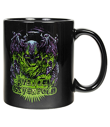 Official Avenged Sevenfold Dare To Die Mug (Black)
