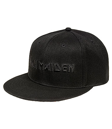 Official Iron Maiden Logo & Trooper Cap (Black)