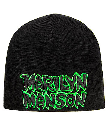 Official Marilyn Manson Logo Beanie (Black)