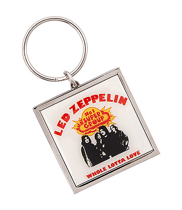 Official Led Zeppelin Whole Lotta Love Keychain (Multicoloured)