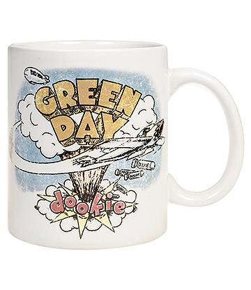 Official Green Day Dookie Mug (White)