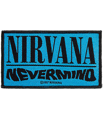 Official Nirvana Nevermind Patch (Blue)