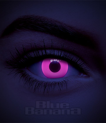 UV I-Glow 1 Day Coloured Contact Lenses (Pink)