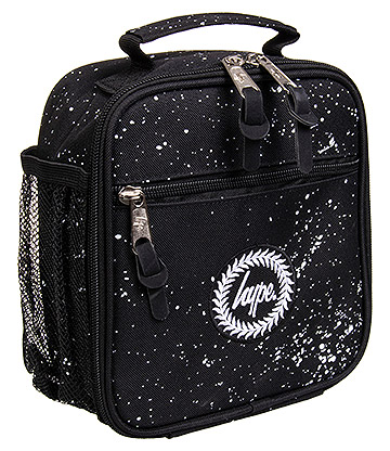 Hype Speckle Lunchbox (Black/White)
