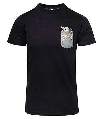 Star Wars Mandalorian Precious Cargo Pocket T Shirt (Black)
