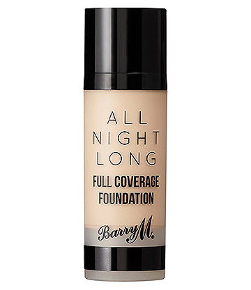 Barry M All Night Long Full Coverage Liquid Foundation (Cashew)