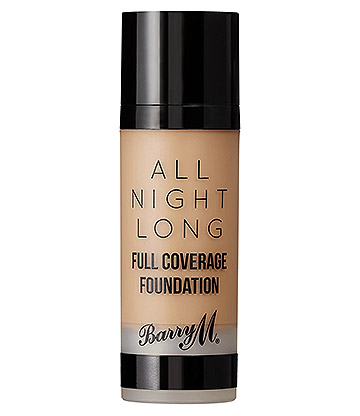 Barry M All Night Long Full Coverage Liquid Foundation (Butterscotch)