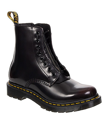 Dr Martens 1460 Pascal Front Zip Boots (Cherry)