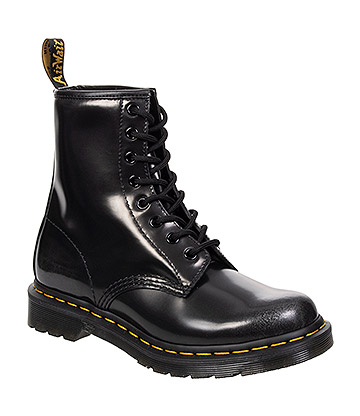 Dr Martens 1460 Arcadia Silver Boots (Black)