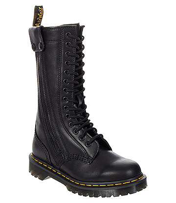 Dr Martens Hanley High Leather Boots (Black)