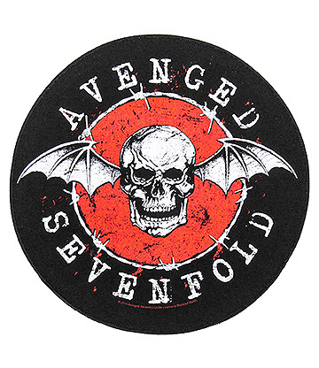 Official Avenged Sevenfold Deathbat Patch (Black)