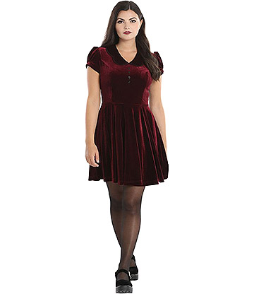 Hell Bunny Blaise Mini Dress (Red)