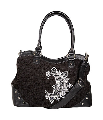Banned Selene Moon Bag (Black)