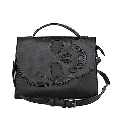 Banned Tenebris Shoulder Bag (Black)