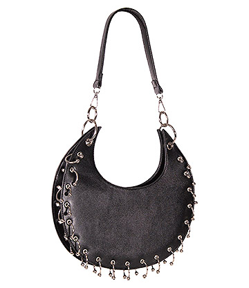 Banned Waxing Crescent Bag (Black)