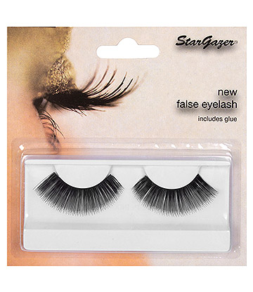 Stargazer No.16 Thin False Eyelashes (Black)
