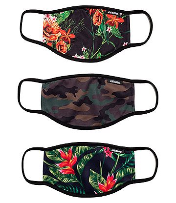 Hype Camo Flowers Facemask (Pack of 3)