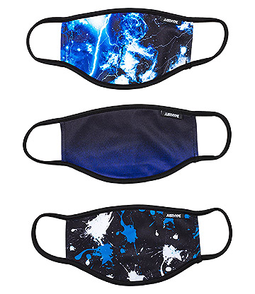 Hype Mixed Blue Facemask (Pack Of 3)