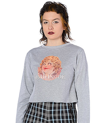 Banned Dead Cherub Jumper (Grey)