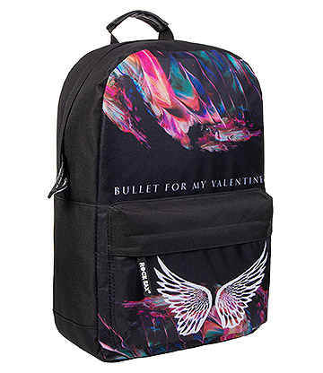 Rocksax Bullet For My Valentine Wings Backpack (Black)