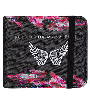 Rocksax Bullet For My Valentine Wings Wallet (Black)