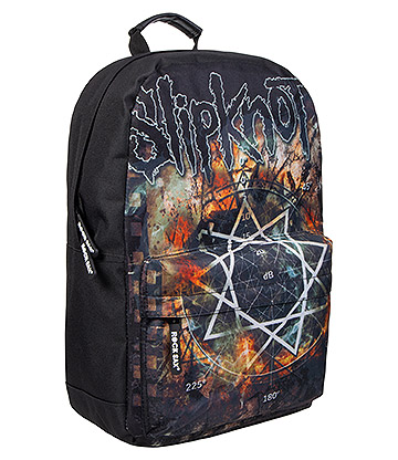 Rocksax Slipknot Pentagram Backpack (Black)
