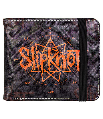 Rocksax Slipknot Star Wallet (Black)