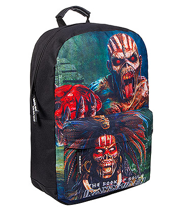 Rocksax Iron Maiden Book Of Souls Backpack (Black)