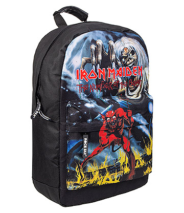 Rocksax Iron Maiden Number Of The Beast Backpack (Black)
