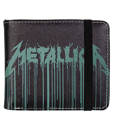 Rocksax Metallica Drips Wallet (Black)