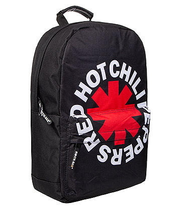 Rocksax Red Hot Chili Peppers Asterix Backpack (Black)