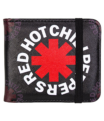 Rocksax Red Hot Chili Peppers Asterix Wallet (Black)