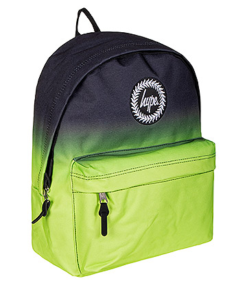 Hype Neon Fade Backpack (Lime Green/Black)