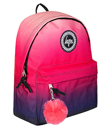 Hype Miami Fade Backpack (Pink/Blue)