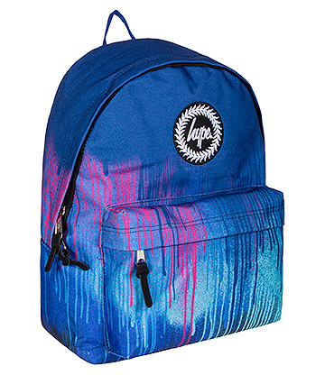 Hype Neon Drips Backpack (Blue)