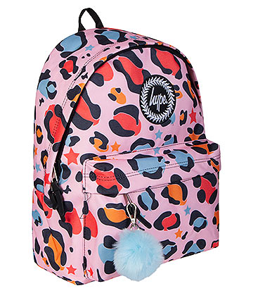 Hype Star Leo Pom Pom Backpack (Multicoloured)