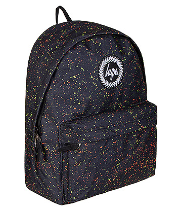 Hype Neon Splat Backpack (Black)