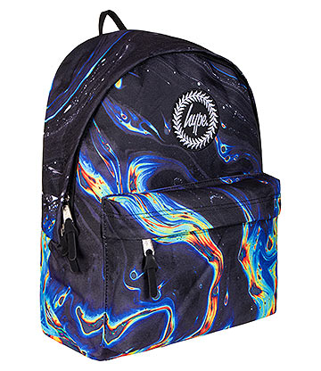 Hype Rainbow Marble Backpack (Multicoloured)