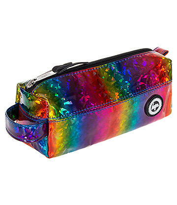 Hype Glitter Rainbow Pencil Case (Multicoloured)