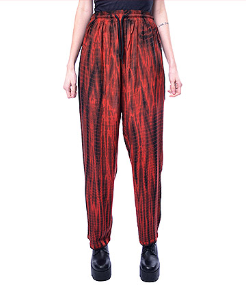 Innocent Bodhi Striped Trousers (Red)