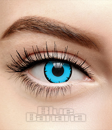 Angelic 90 Day Coloured Contact Lenses (Blue)